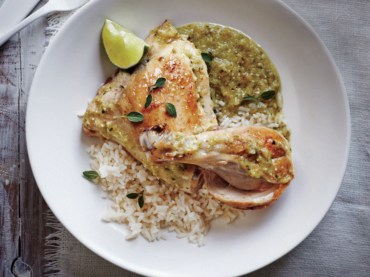 Slow Cooker Chicken Verde Recipe