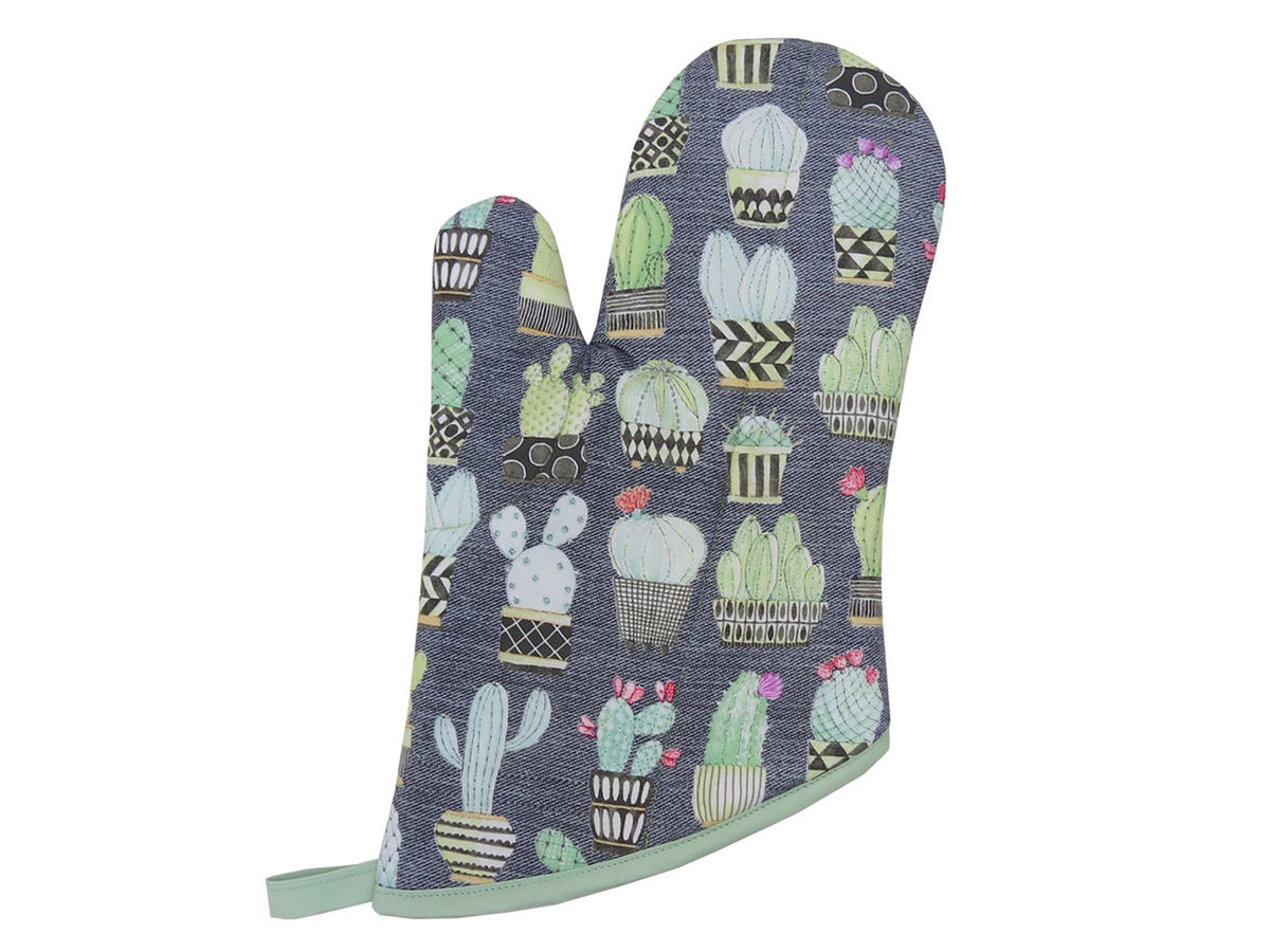 1707w Always Fits Cactus Oven Mitt