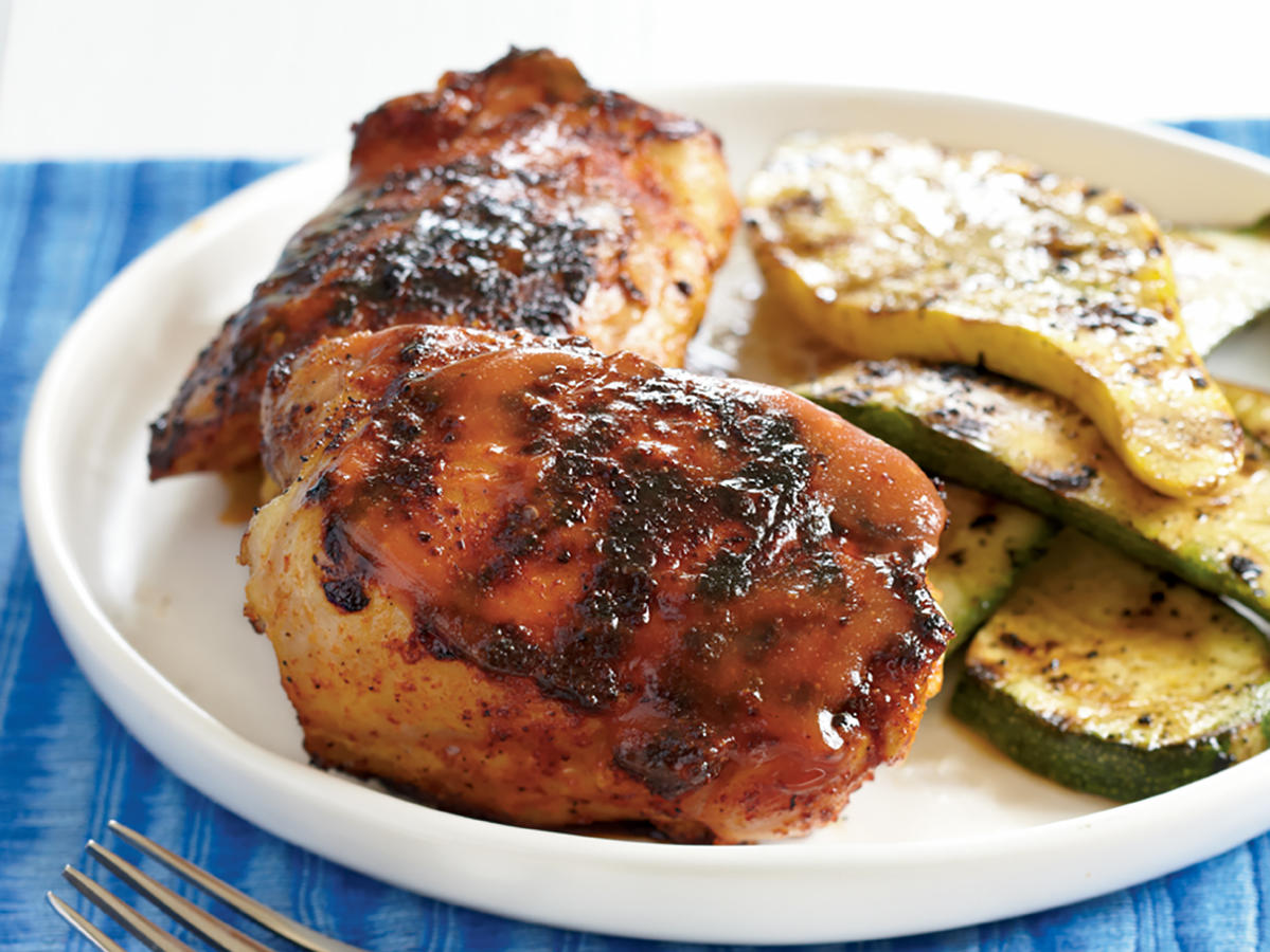 Barbecue Chicken with Mustard Glaze Recipes