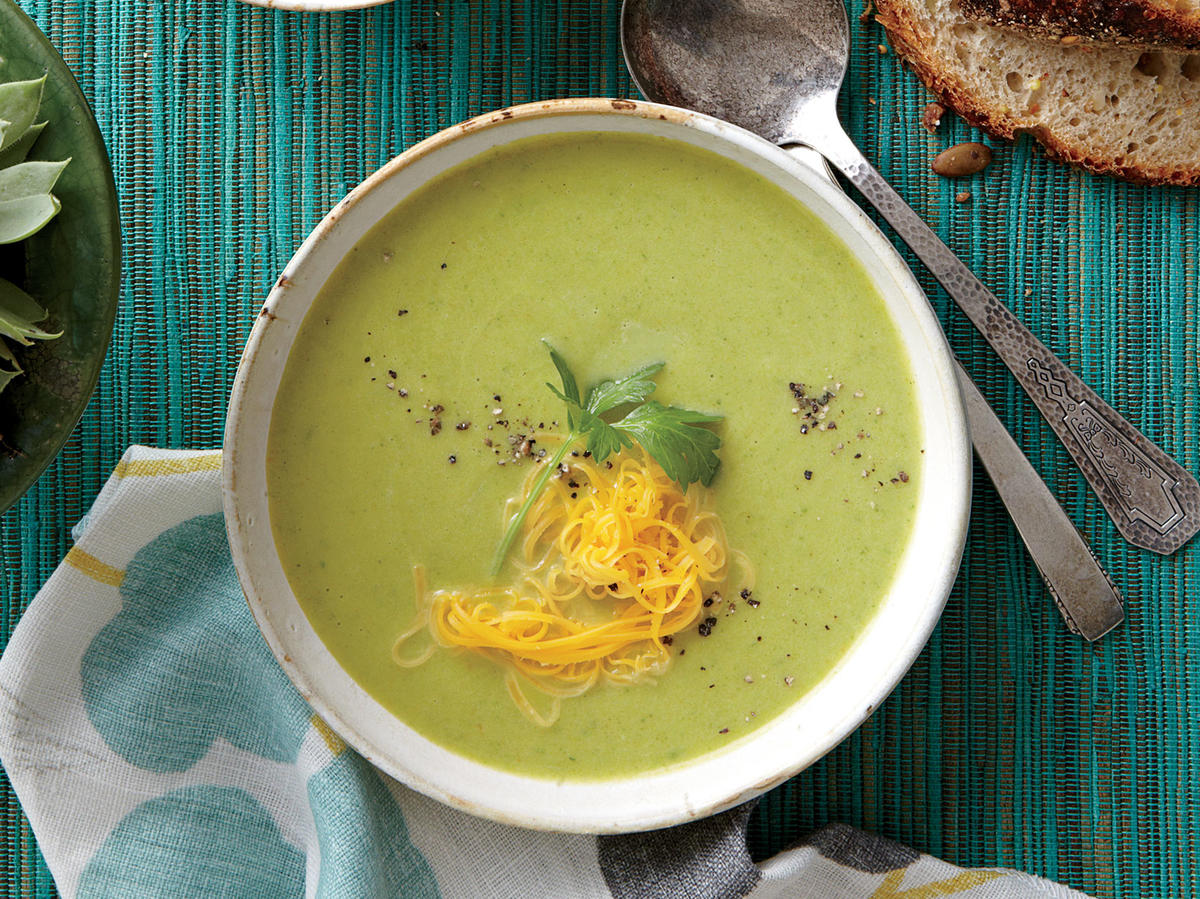 How to Purée Broccoli for Soup