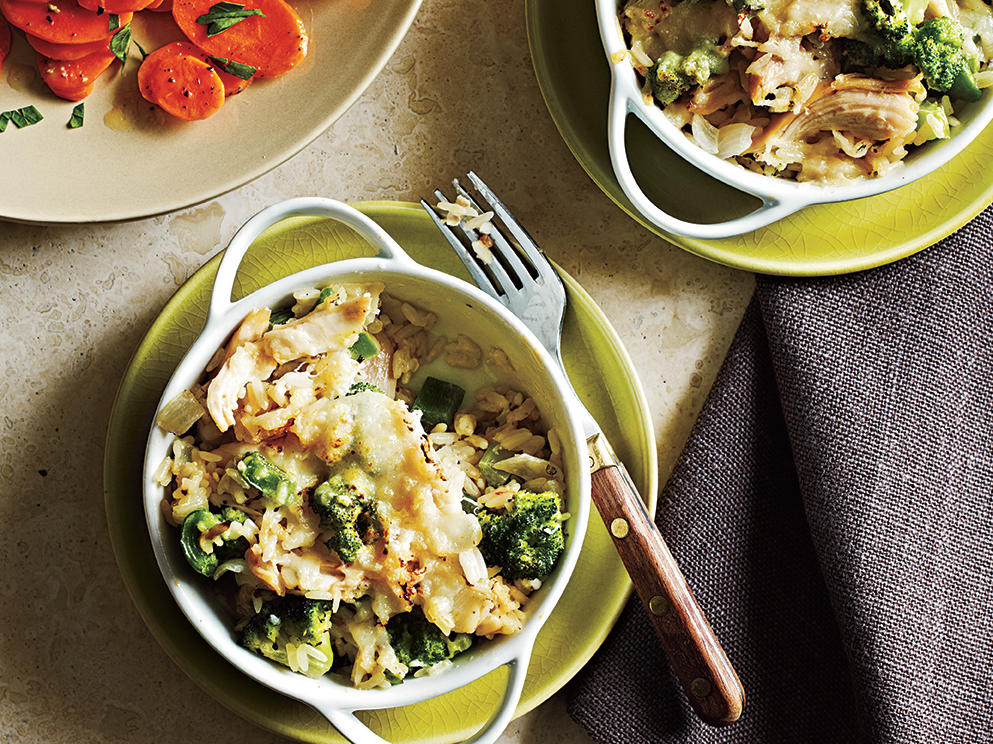 Broccoli and Rice Casseroles Recipe