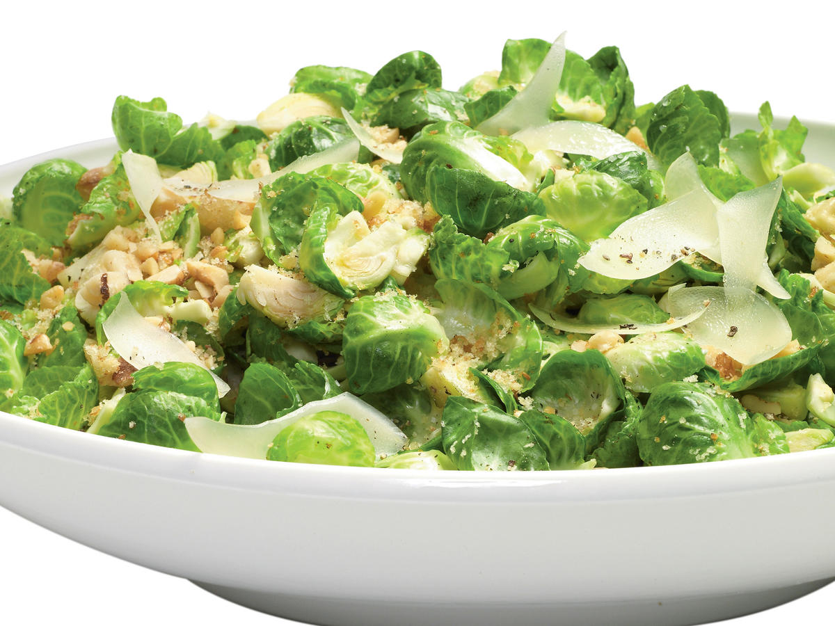 Nutty Warm Brussels Sprouts Salad Recipes