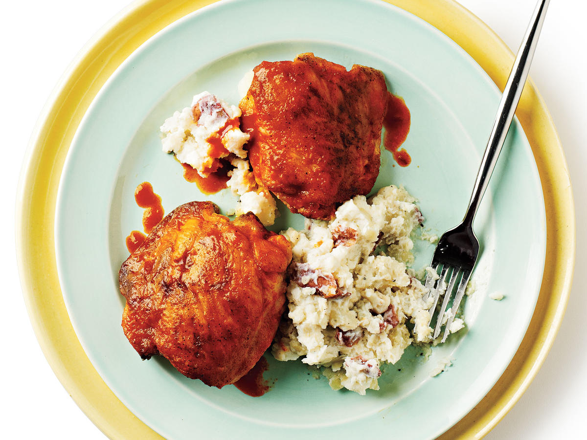 Buffalo Chicken Thighs Budget Cooking Recipe