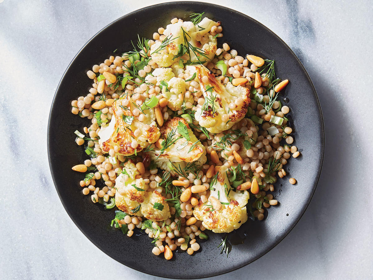 Cauliflower-Couscous Toss