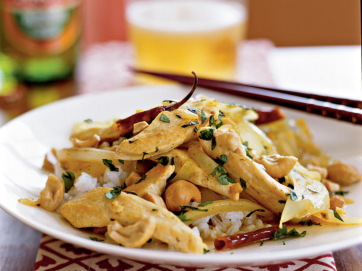 Curried Chicken and Cashews Recipes