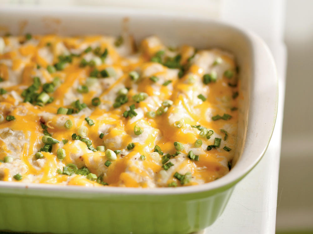Cheesy Chicken Enchiladas
