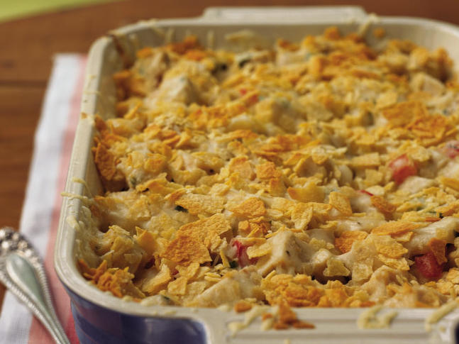 This recipe has a nostalgic appeal that harks back to the 1950s and '60s. If you make it ahead, don't add the potato chips until it's time to bake the casserole, or they'll become soggy.