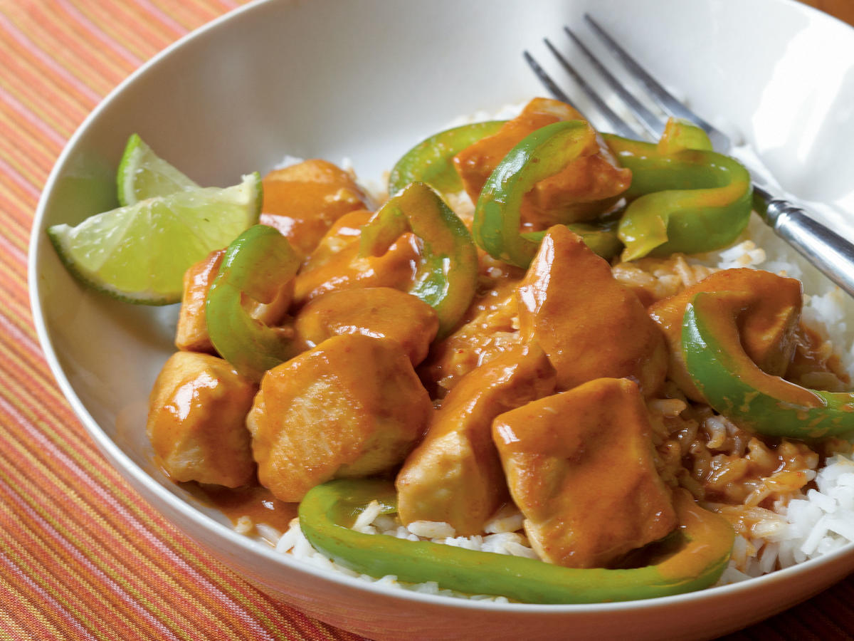 Healthy Budget Recipes: Chicken Curry