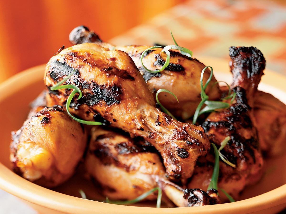 Marinated Grilled Chicken Legs Recipes