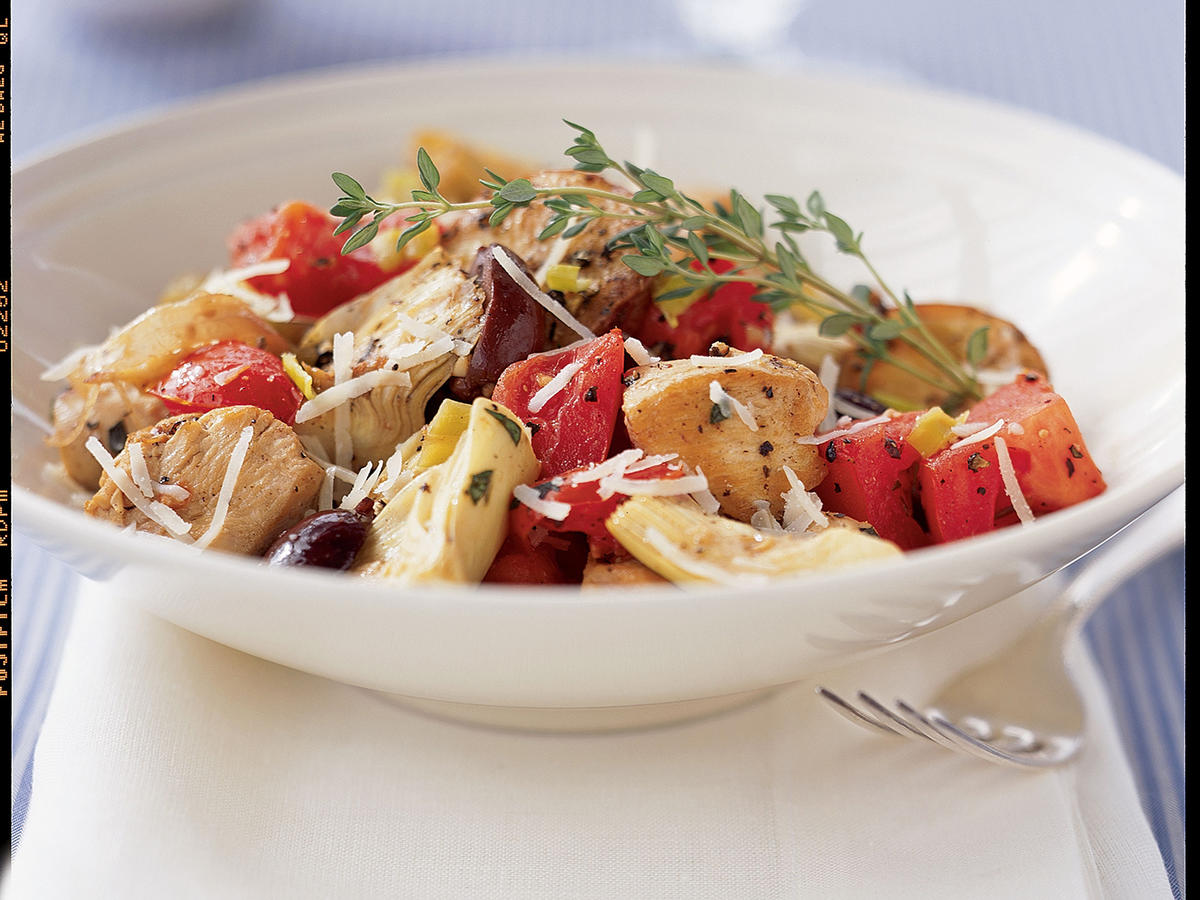 Mediterranean Chicken with Potatoes Recipes