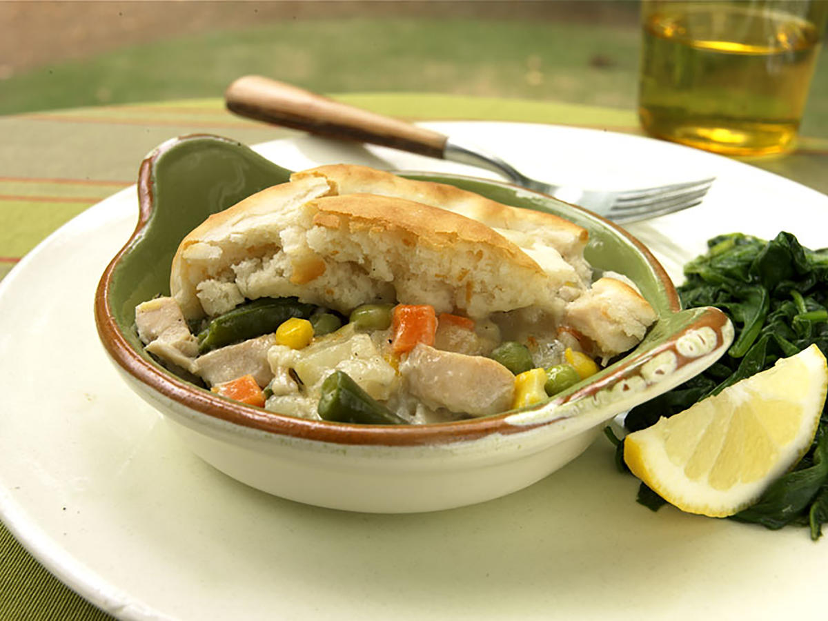 Biscuit-Topped Chicken Potpie Recipes