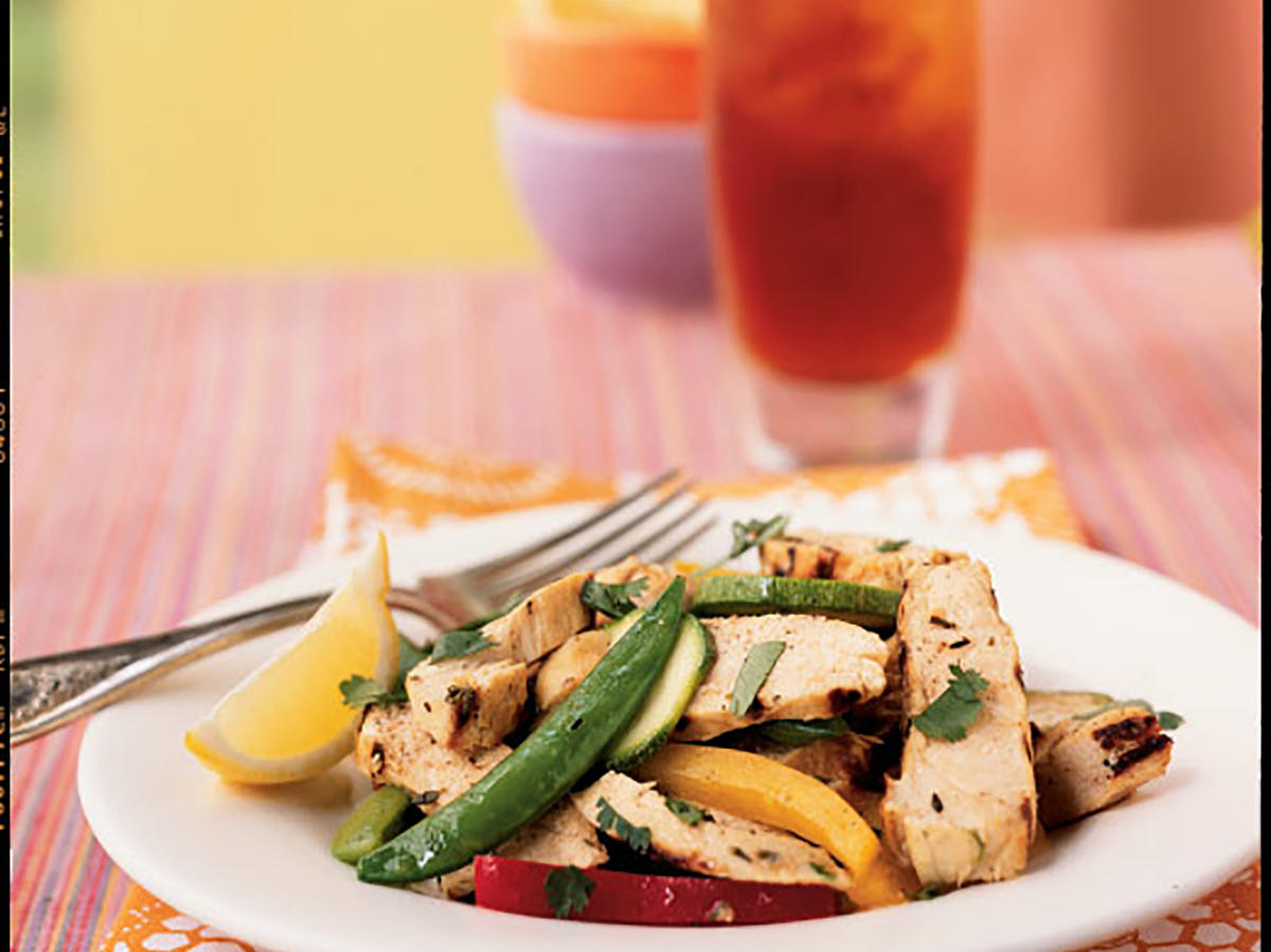 Grilled Chicken and Lemon Salad Recipes