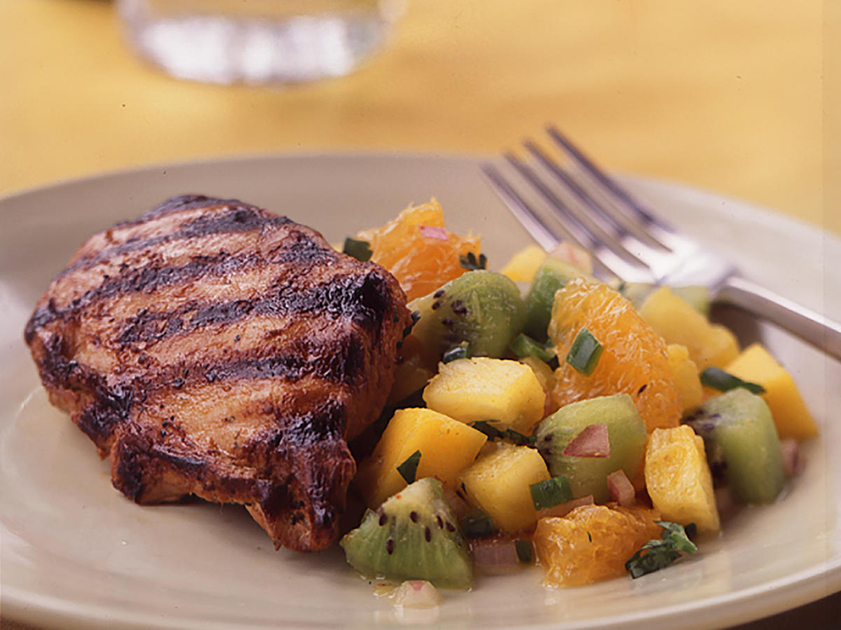 Grilled Chicken with Fruit Salsa Recipes