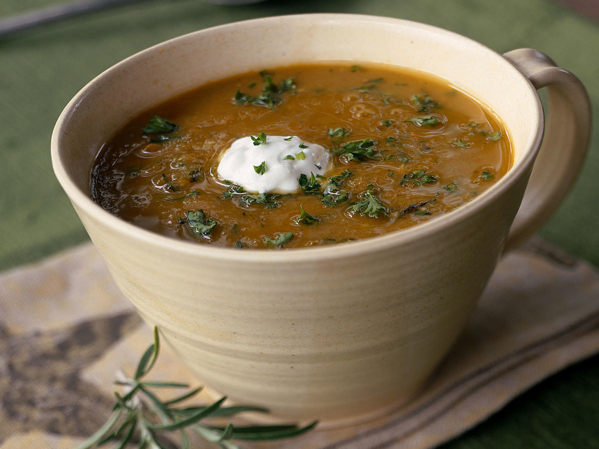Healthy Split Pea Soup with Rosemary Recipe
