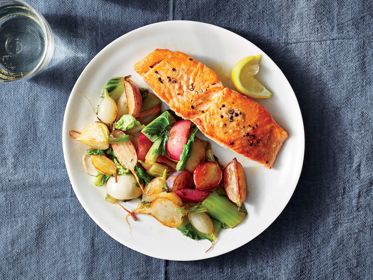 Fast Pan-Fried Salmon
