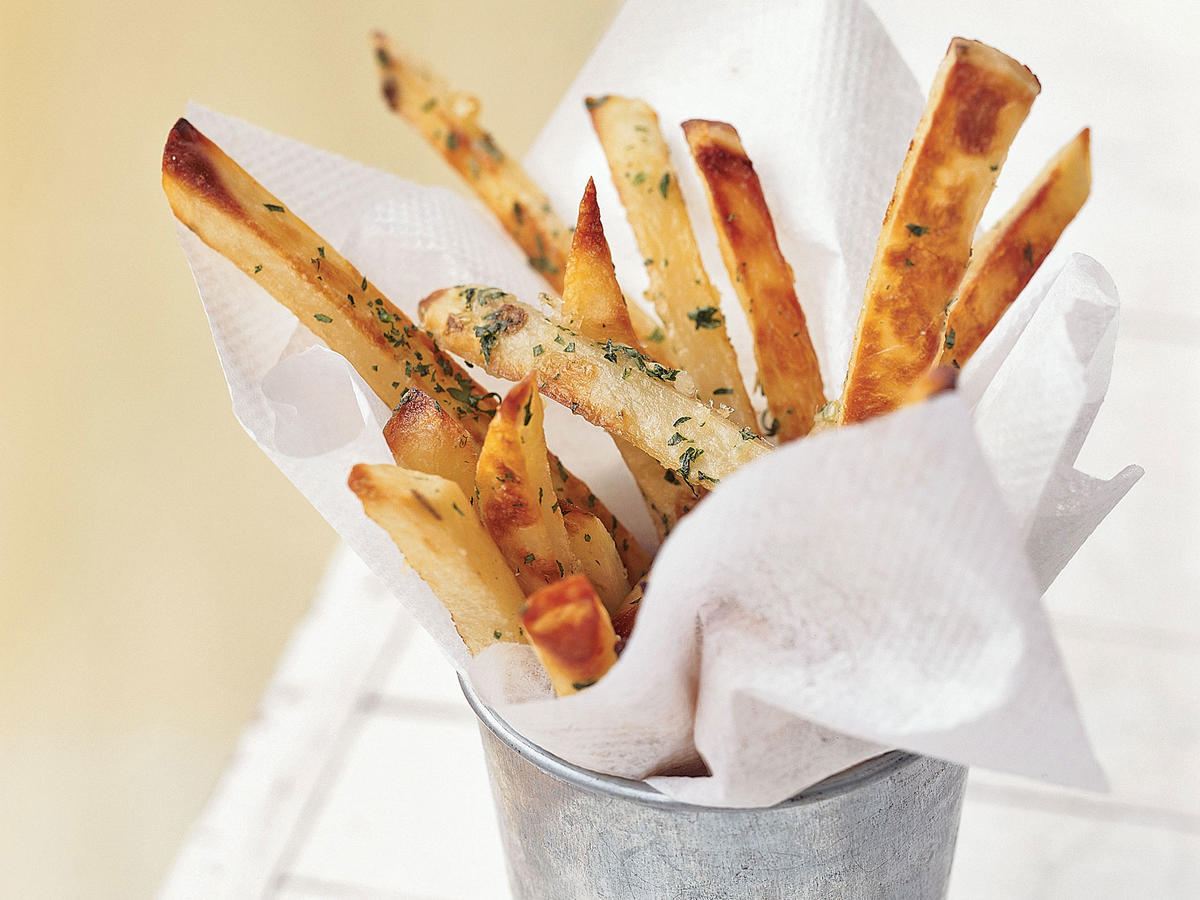 3. Cheeseburger and French Fries