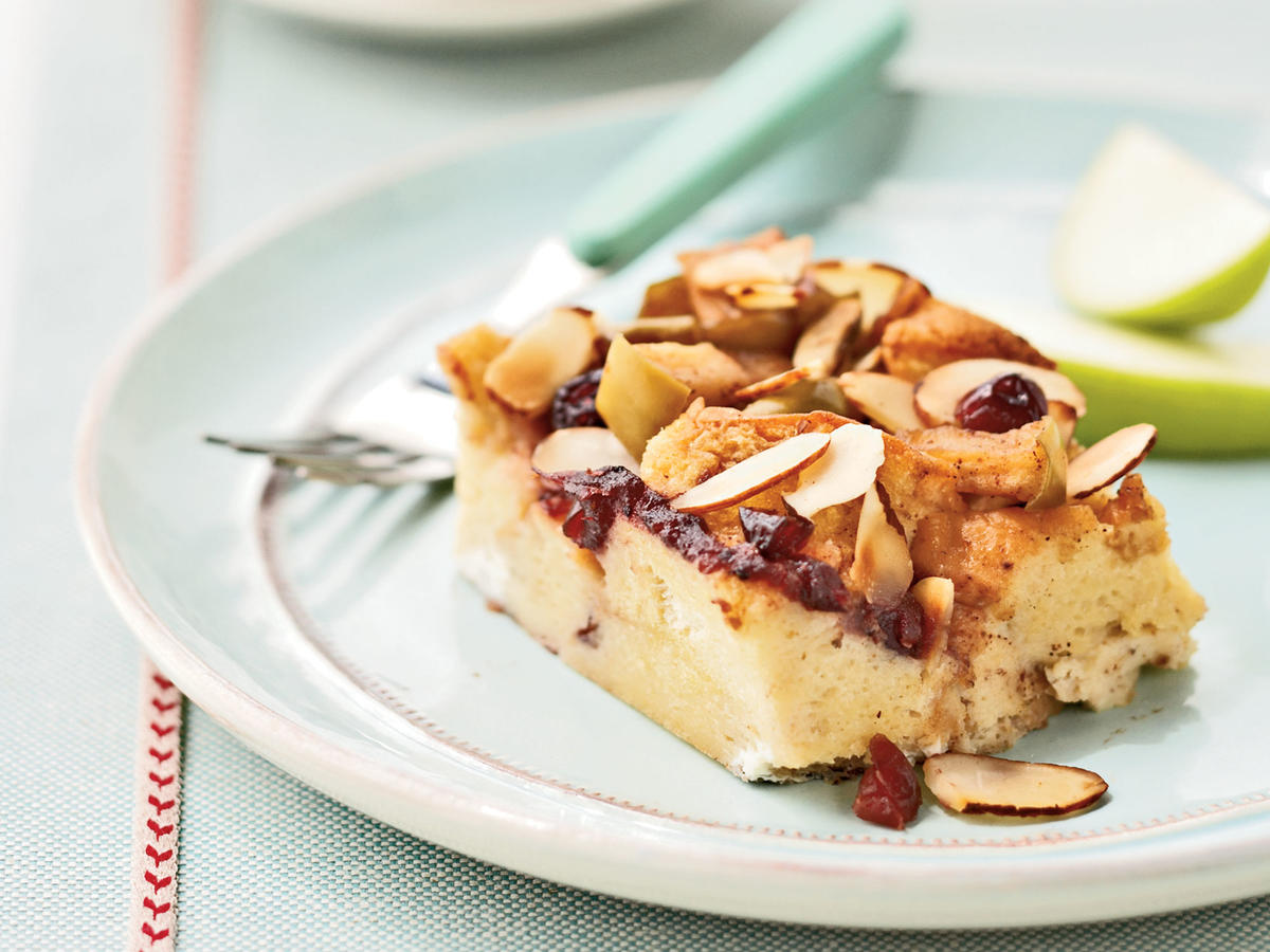Cranberry-Apple French Toast Casserole Recipe