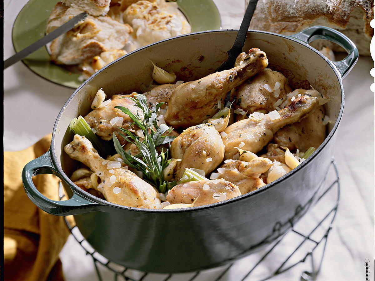 Chicken with 40 Cloves of Garlic Recipes