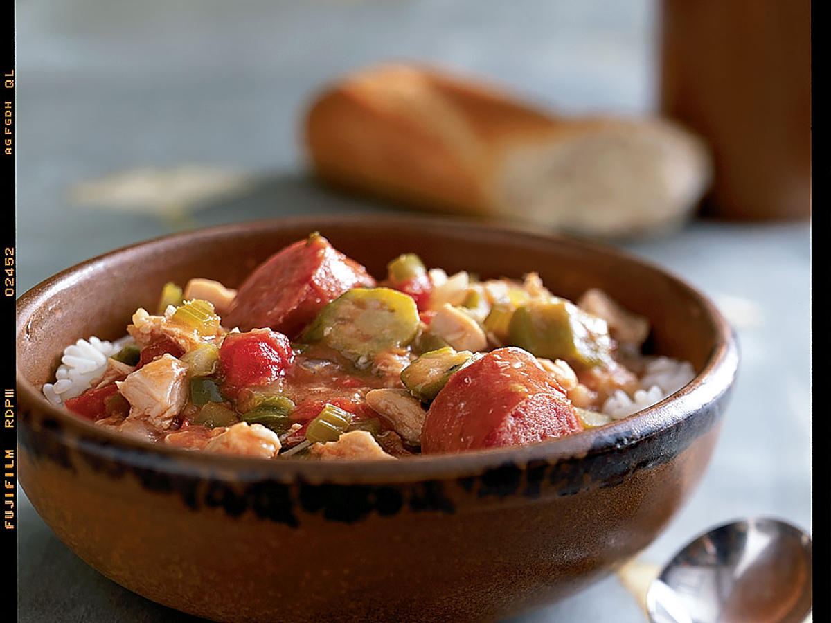 Sausage and Chicken Gumbo Recipes