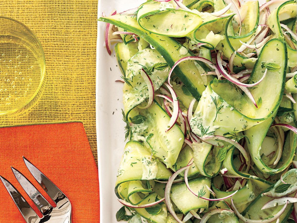 Herby Cucumber Salad Recipe