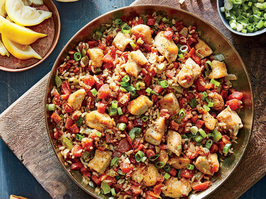 Healthy Jambalaya Recipes