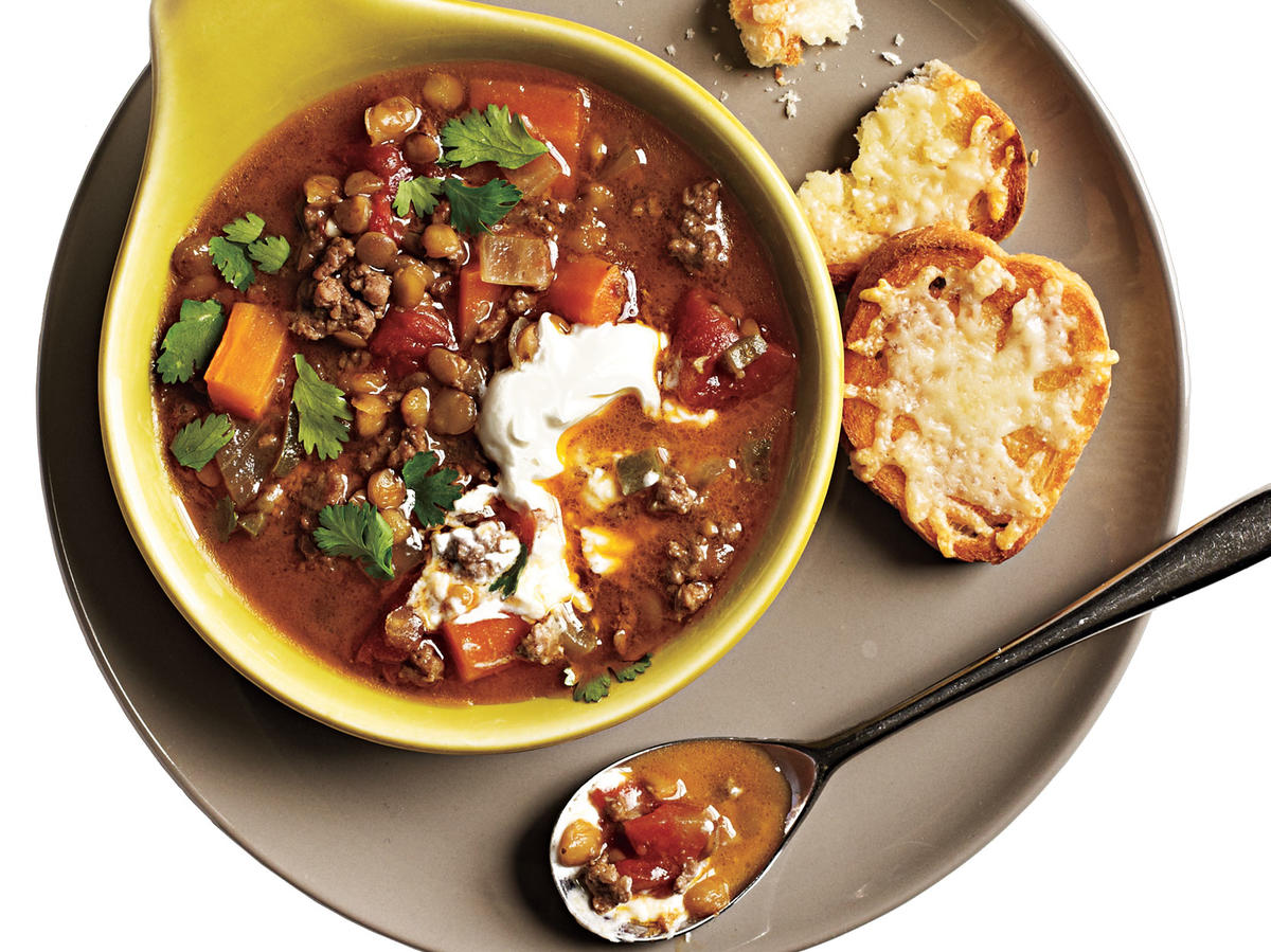 Indian-Spiced Lentils and Lamb Recipes
