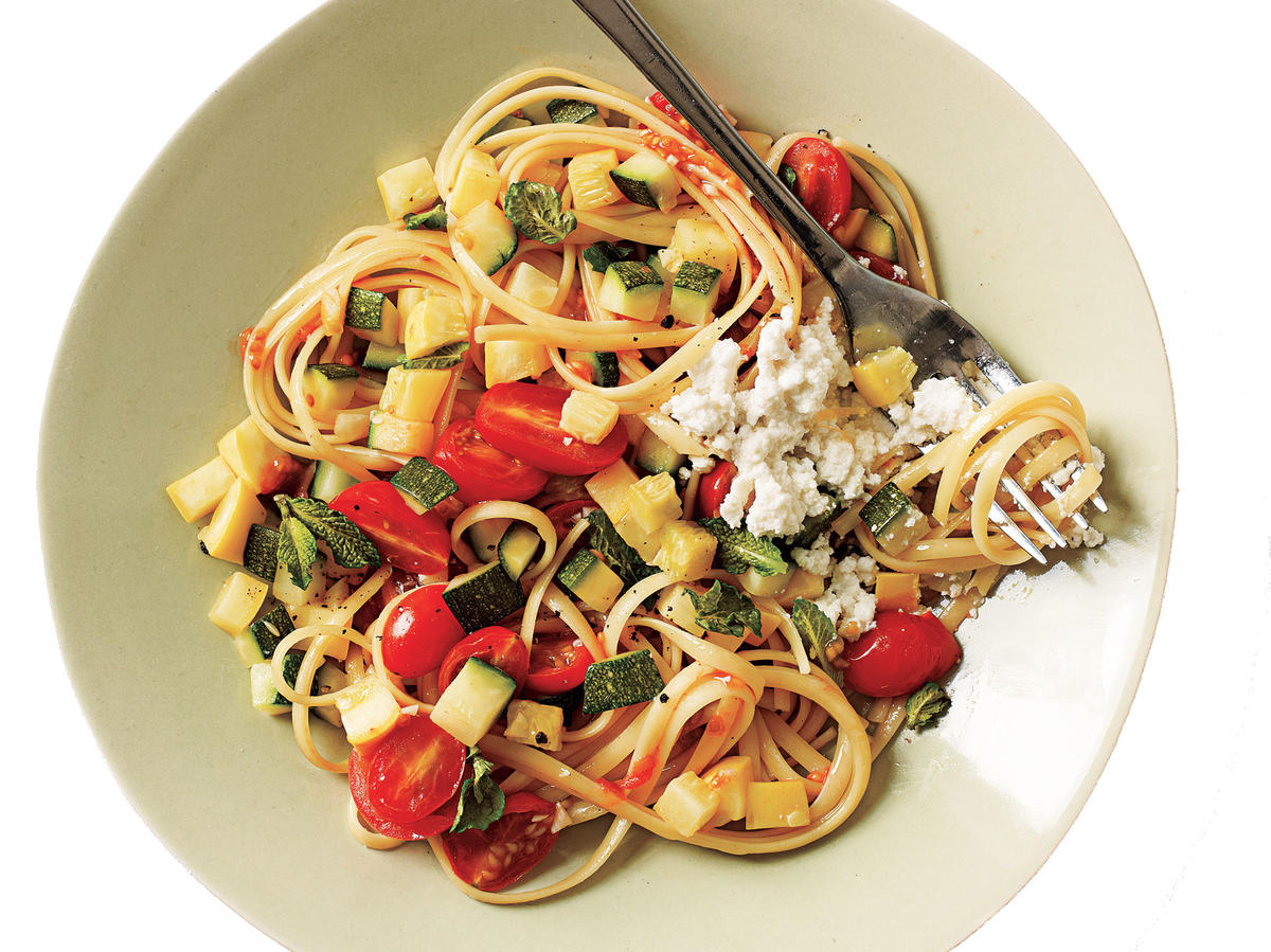 Linguine with Quick Lemon Ricotta Budget Cooking Recipe