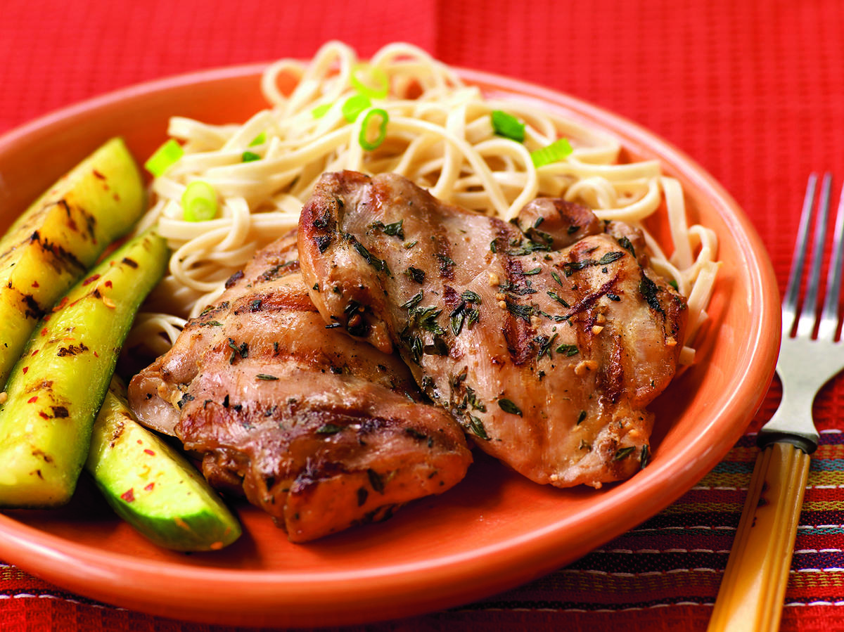 Soy-Marinated Chicken Thighs Recipes