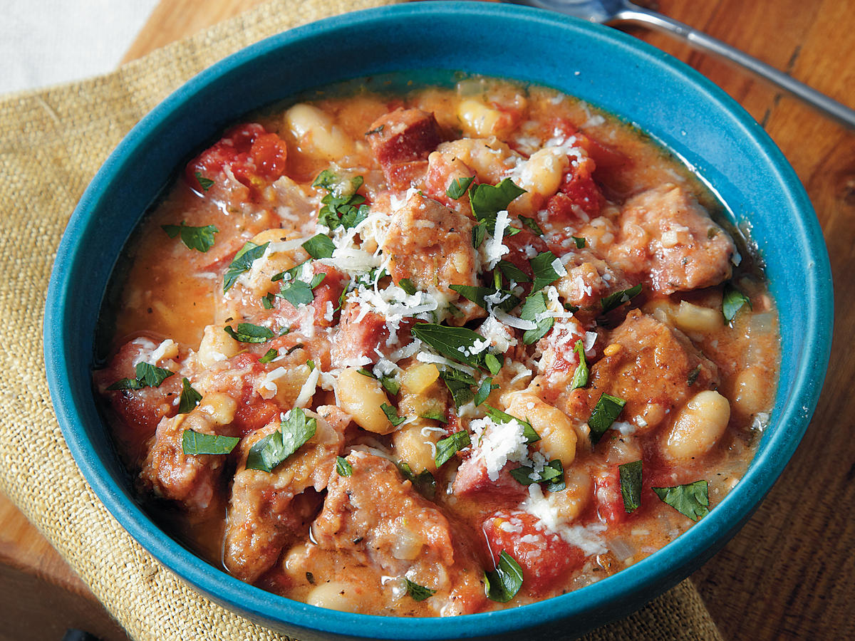 Smoked Sausage Cassoulet Recipe