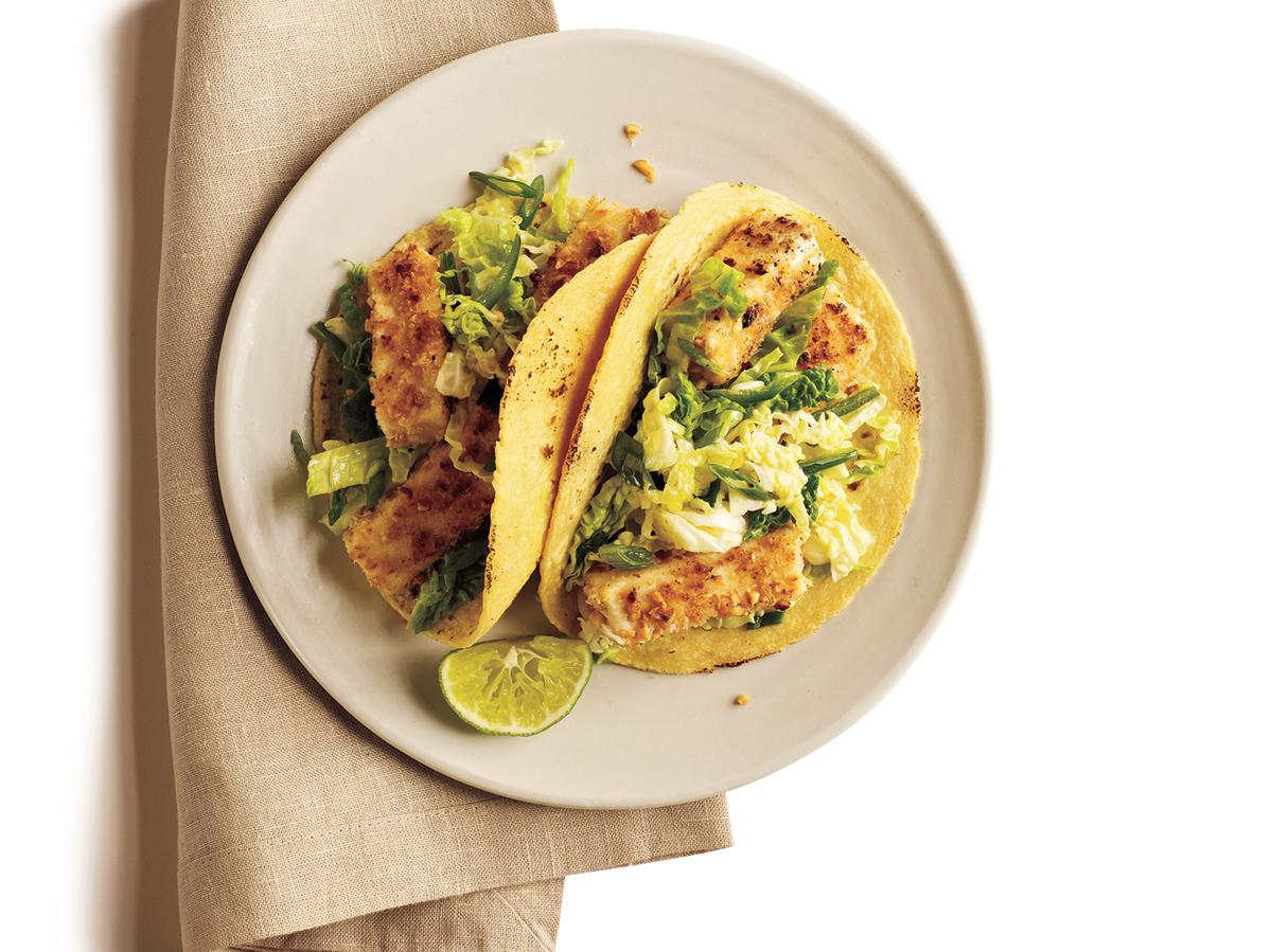 Give traditional tacos a run for their money with these tofu tacos. This vegetarian dish may be the one to convert non-tofu eaters in your house.