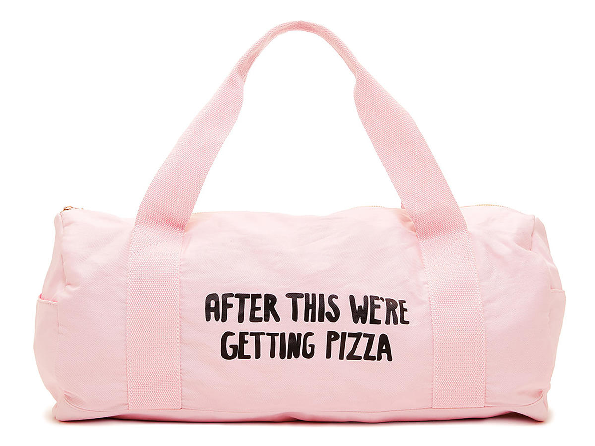 Always Fits Pizza Gym Bag