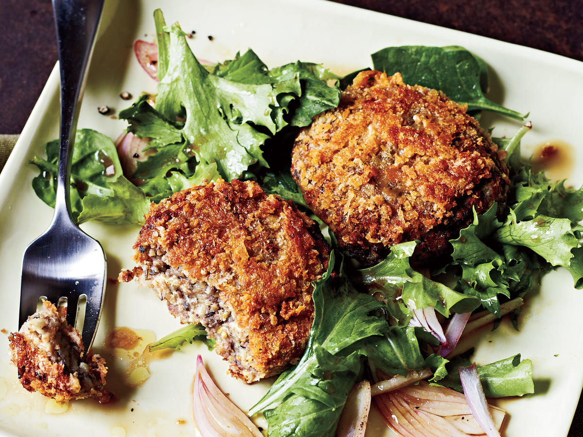 Potato, Mushroom, and Leek Croquettes Recipe