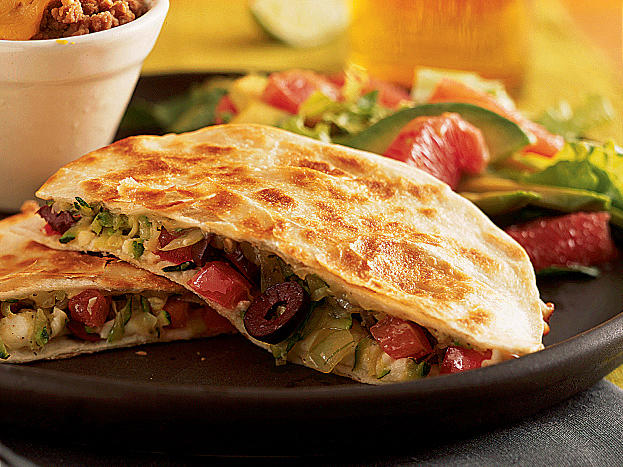 This vegetarian quesadilla dinner is perfect for a Meatless Monday option or to encourage your family to eat more veggies any day of the week.