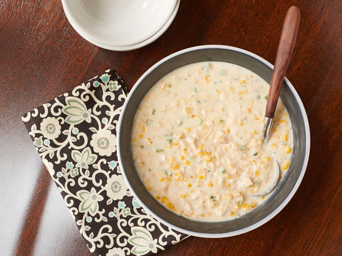 Healthy Quick Chicken-Corn Chowder Recipe