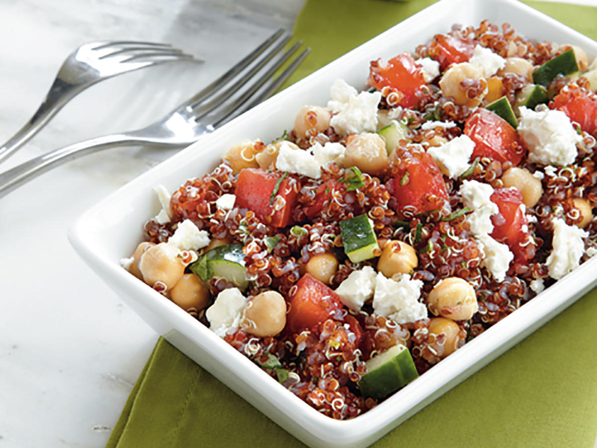 Cooking with quinoa 31 recipes cooking light red quinoa salad forumfinder Choice Image