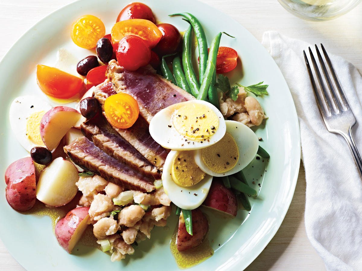 Seared Tuna Niçoise recipe