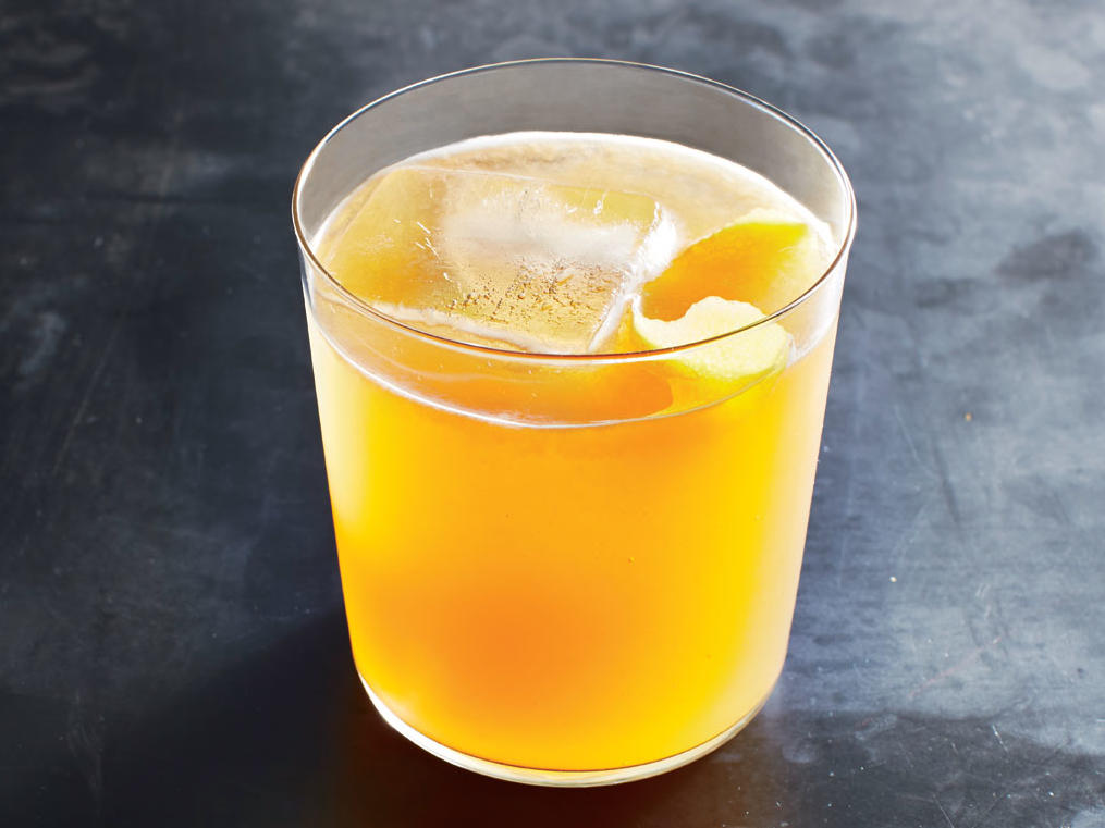Spiced Whiskey Sour