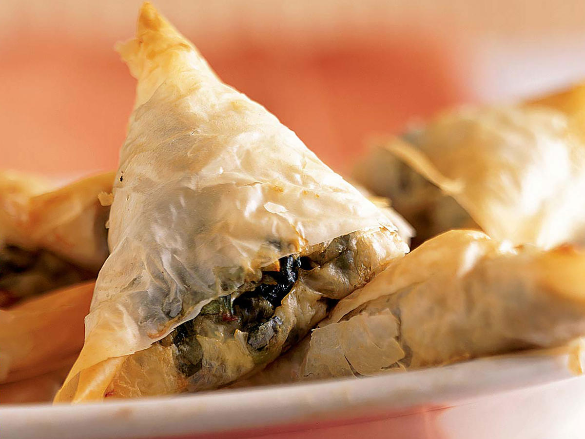 Mini-Spanakopitas