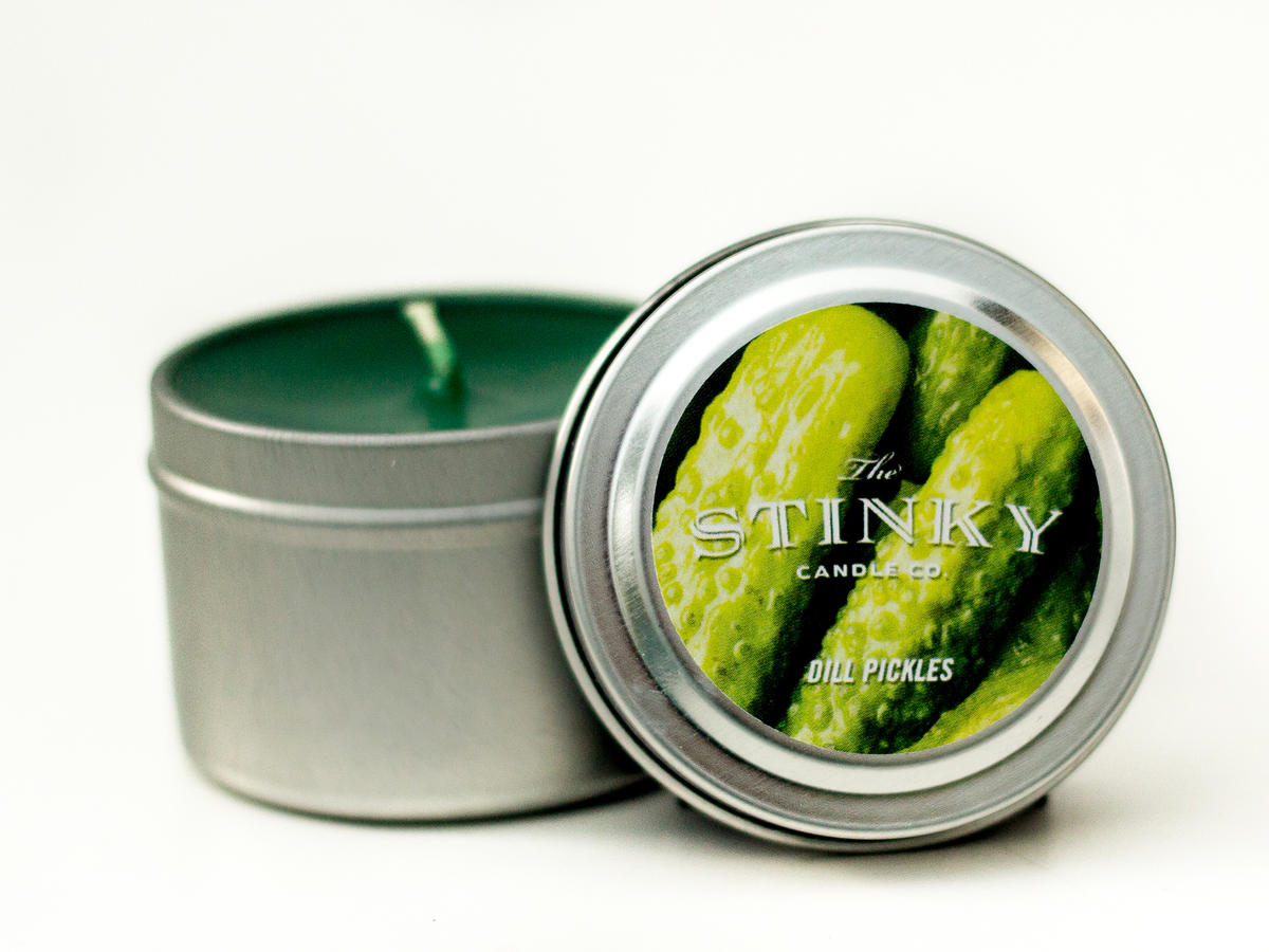 Stinky Candle Company Dill Pickle