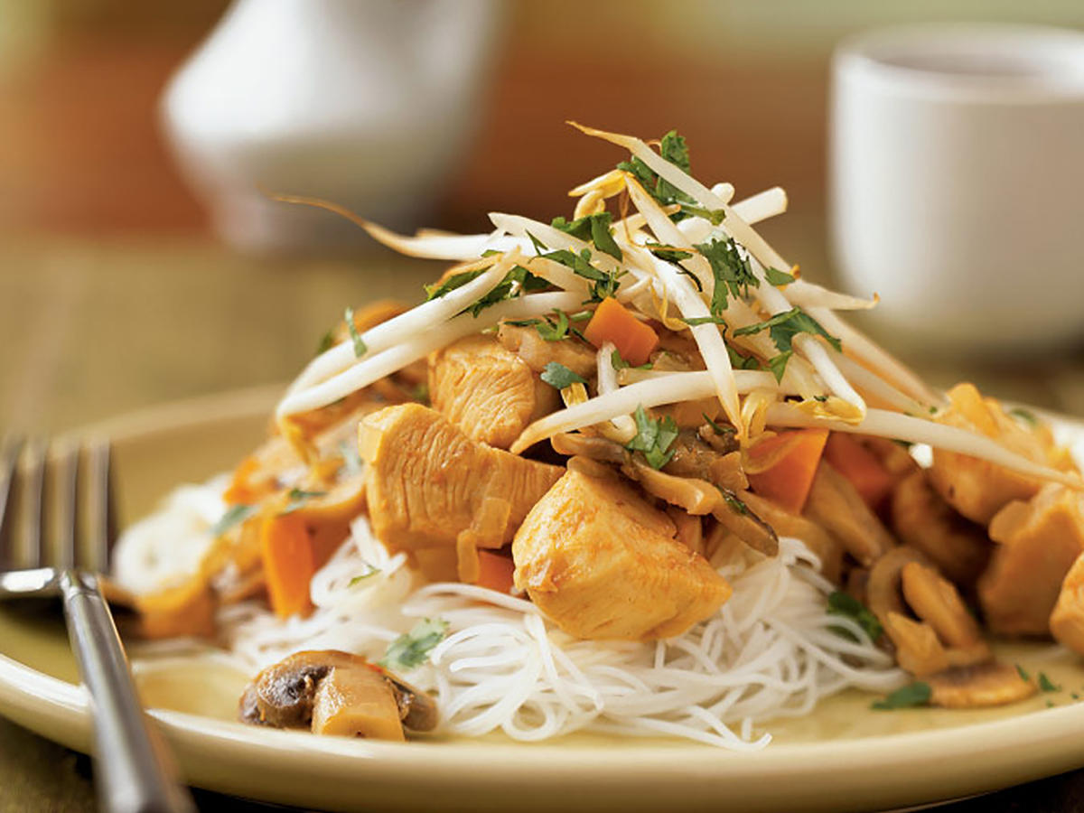 Thai-Style Stir-Fried Chicken Recipes