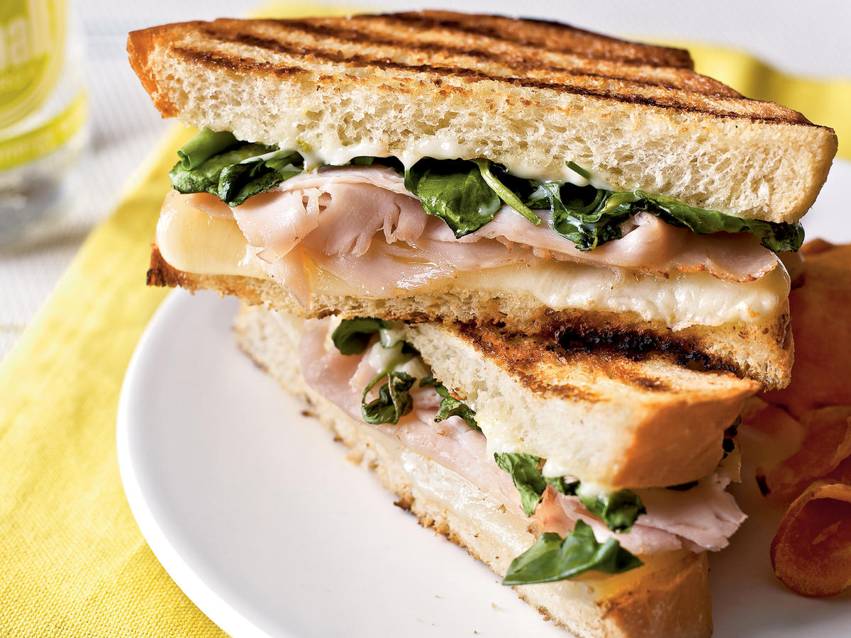 Curried Turkey, Apple, and Watercress Sandwich forecasting