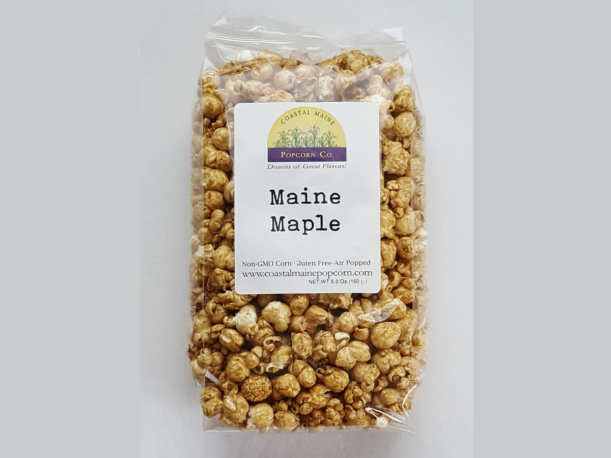 Maine Maple Popcorn