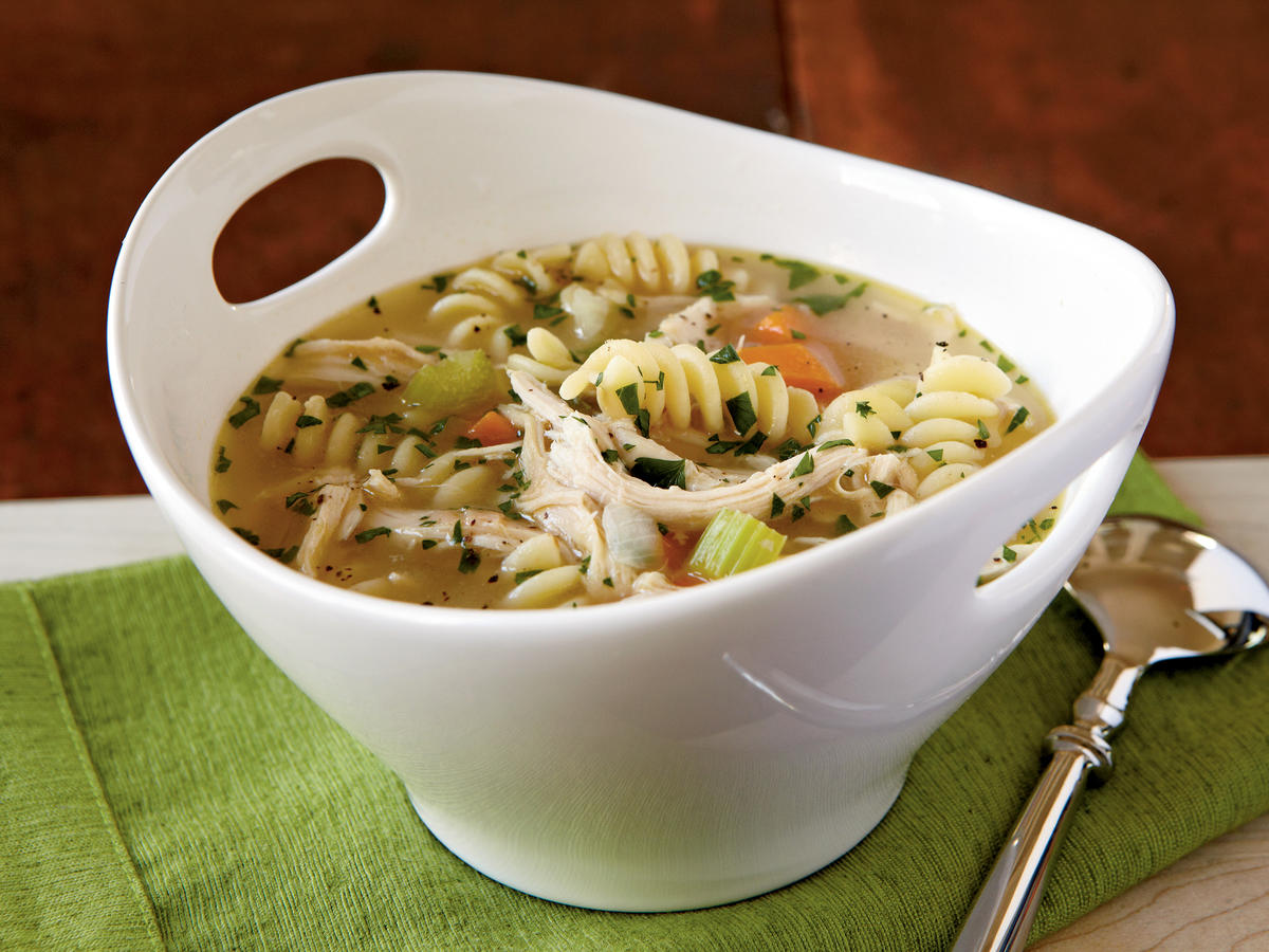 Comforting chicken soup recipes cooking light quick chicken noodle soup recipes forumfinder