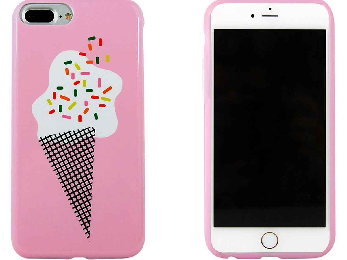 Iphone 7 Plus Case-Ashley Mary-Ice Cream