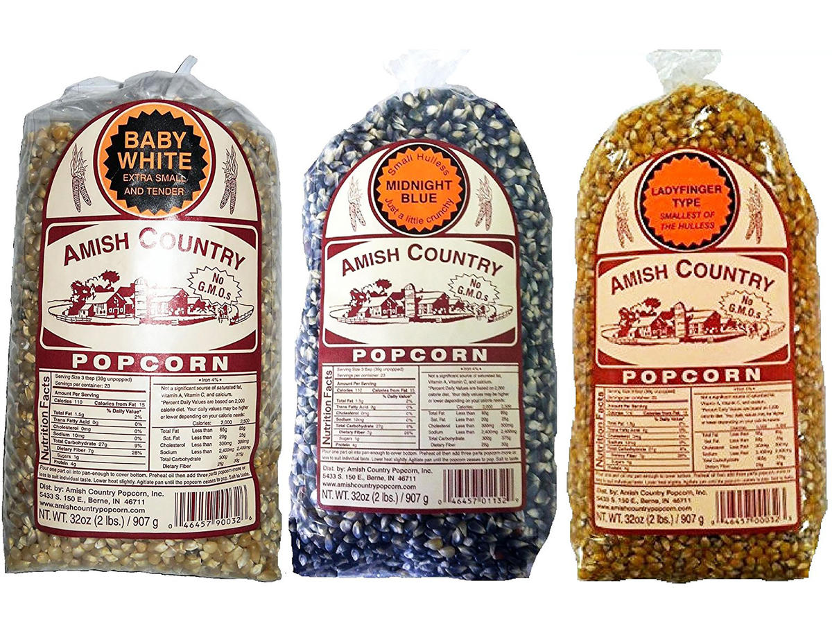 Amish Country Popcorn Gourmet Variety Pack