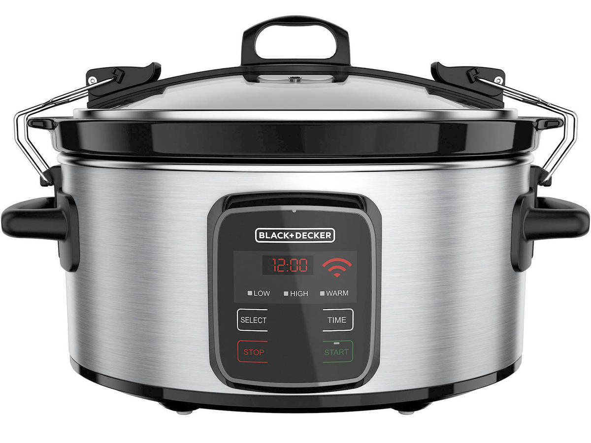 BLACK+DECKER WiFi-Enabled 6-Quart Slow Cooker