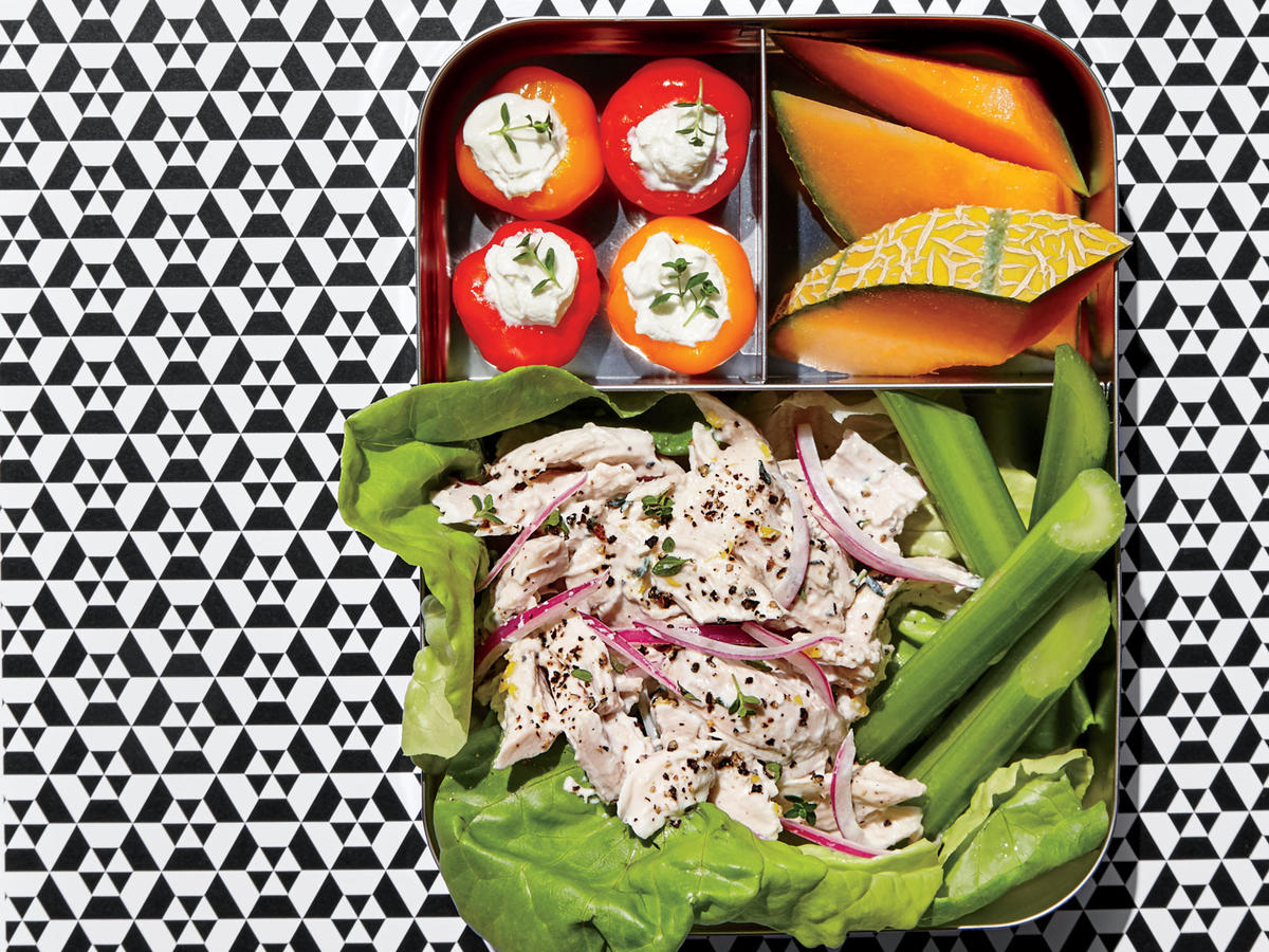 Chicken Salad Lunch Box