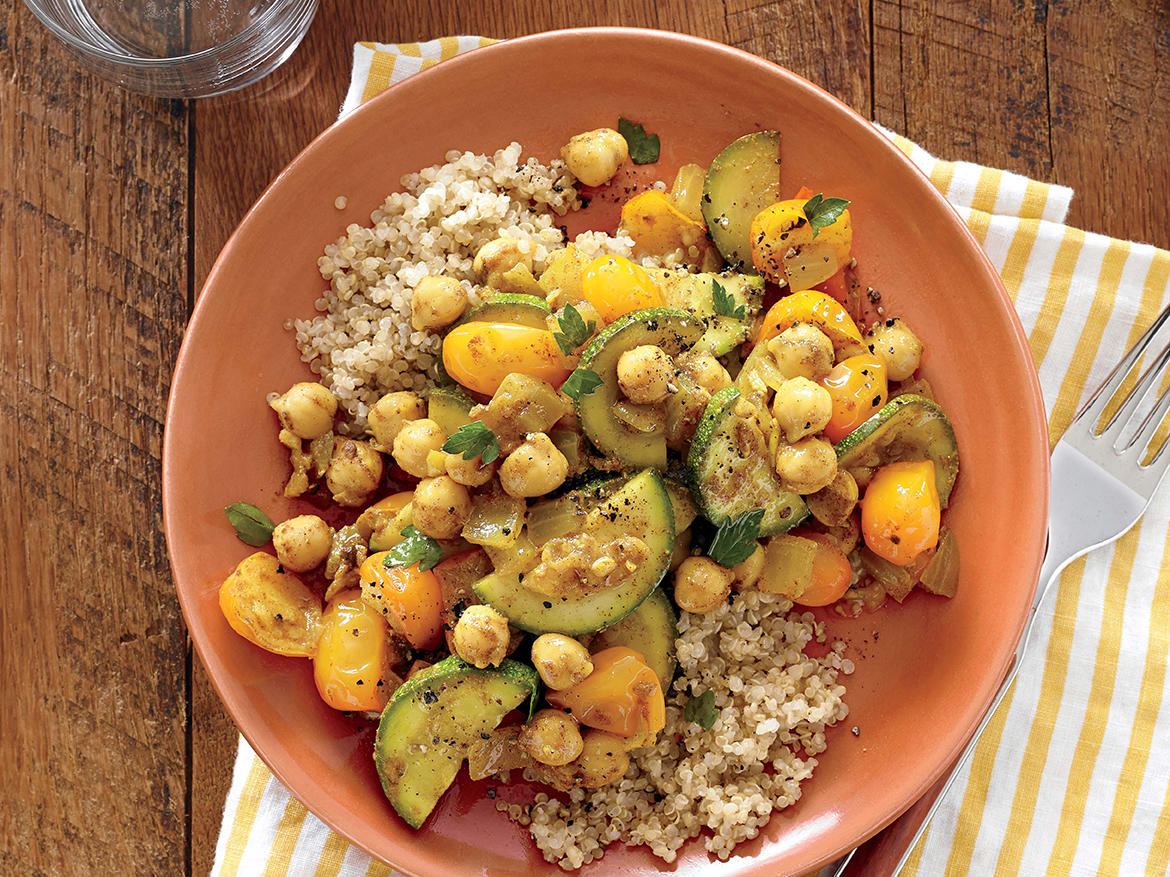 Chickpea and Vegetable Tagine