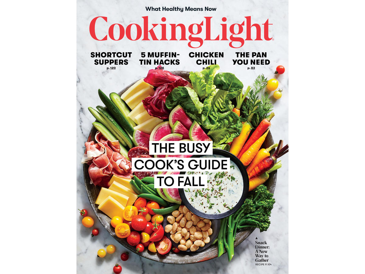 Cooking Light Magazine Cover - Full Size