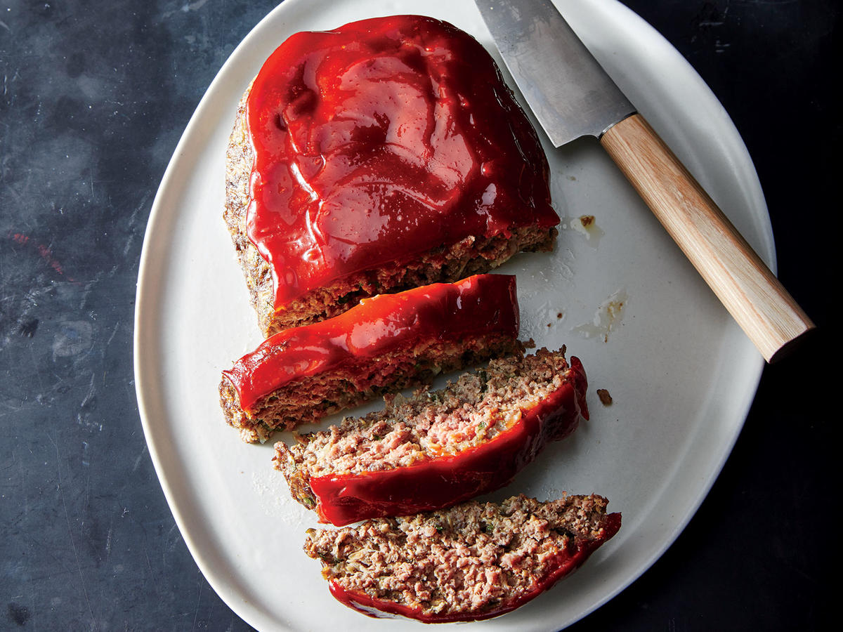 Tuesday: Flax-Boosted Meatloaf